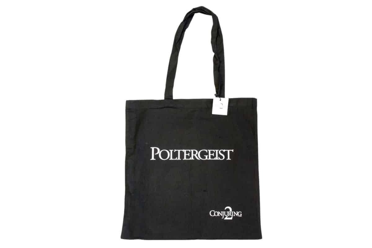 warner-tragetasche-baumwollbeutel-gots-siebdruck-textildruck-einkaufstasche-merchandising-giveaway-promotionartikel-poltergeist